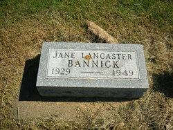 Jane Lancaster Bannick