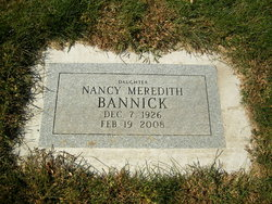 Nancy Meredith Bannick