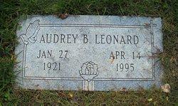 Audrey Belle <i>Beckelhimer</i> Leonard
