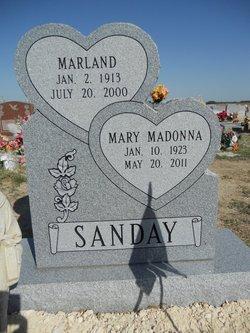 Mary Madonna <i>Belisle</i> Sanday