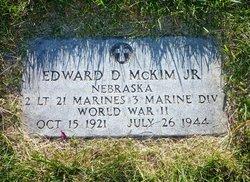 Lieut Edward D Mckim, Jr