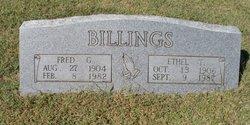 Fred G Billings