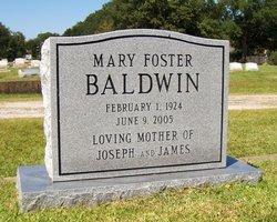 Mary Estelle <i>Foster</i> Baldwin