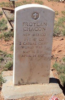 Pvt Froylan Chacon