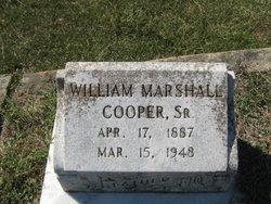 William Marshall Cooper, Sr