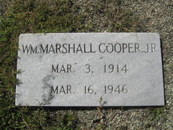 William Marshall Cooper, Jr