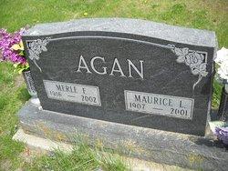 Merle F Agan