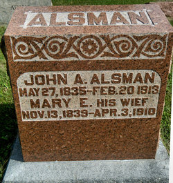 Mary Elizabeth <i>Long</i> Alsman