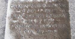 Carmen <i>Betancourt</i> Aquino