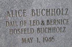 Alice Buchholz