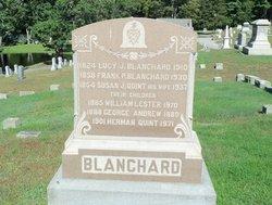 Lucy J <i>Davis</i> Blanchard