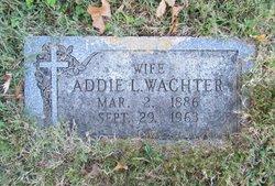 Addie L Wachter