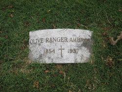 Olive <i>Ranger</i> Ambrose