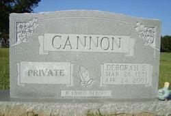 Deborah <i>Spradling</i> Cannon