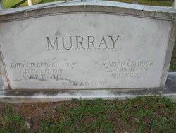 Marian <i>Calhoun</i> Murray