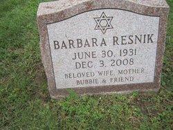 Barbara Resnik