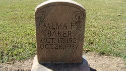 Alma Francis Baker