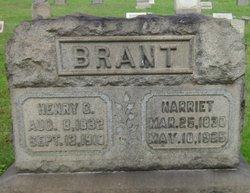 Harriet <i>Daniels</i> Brant