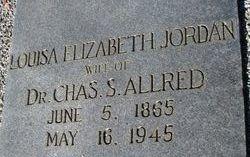 Louisa Elizabeth <i>Jordan</i> Allred