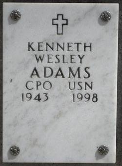 Kenneth Wesley Adams