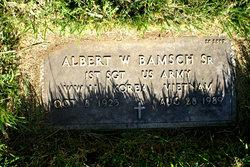 Albert W Bamsch, Sr