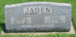 Emma Gertrude <i>Graber</i> Jaden