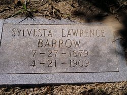 Sylvesta Hallie Vesta <i>Lawrence</i> Barrow
