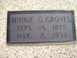 Minnie <i>Hancock</i> Groves