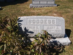 Mary Ann Lizzie <i>Francis</i> Boggess