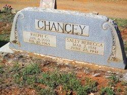 Sally Rebecca <i>Fenley</i> Chancey