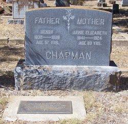 Annie Elizabeth <i>Herring</i> Chapman