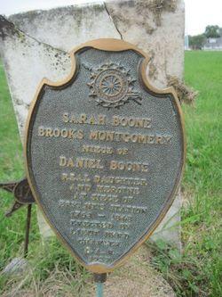 Sarah <i>Boone</i> Montgomery