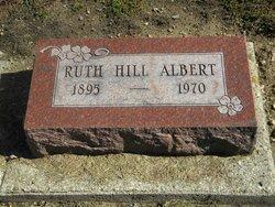 Ruth <i>Hill</i> Albert
