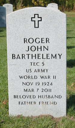 Roger John Barthelemy