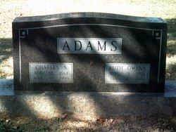 Ruth <i>Owens</i> Adams