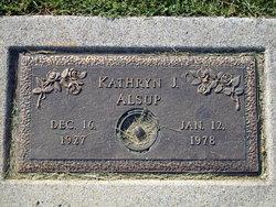 Kathryn J Alsup