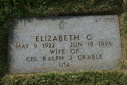 Elizabeth G <i>Rich</i> Grable