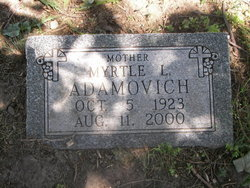 Myrtle L. <i>Duell</i> Adamovich