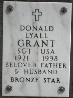 Donald Lyall Grant