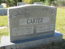 Margaret <i>Hartley</i> Carter