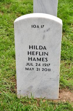 Hilda <i>Heflin</i> Hames