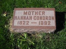 Hannah <i>Kerr</i> Condron