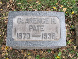 Clarence H Pate