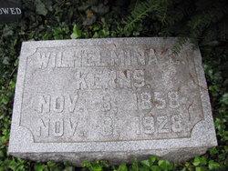 Wilhelmina L Kerns