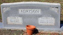 Callie <i>Perkins</i> Adkison