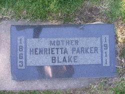 Henrietta <i>Parker</i> Blake