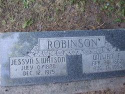 Jessyn S <i>Watson</i> Robinson