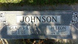Gladys Iola <i>Seckman</i> Johnson