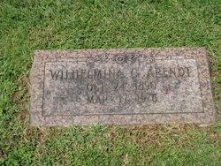 Wilhelmina C Arendt