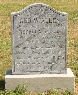 Rebecca <i>Robinson</i> Allen